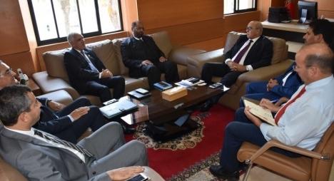 حامي الدين يبرز ملامح التجربة المغربية في لقاء مع برلمانيين ليبيين