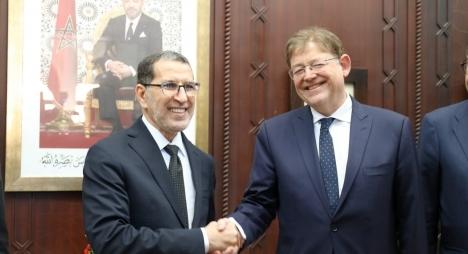 هذه تفاصيل مباحثات العثماني مع رئيس حكومة فالنسيا الإسبانية
