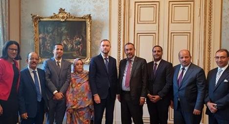 ممثلون عن الأقاليم الجنوبية يُجرون بستوكهولم سلسلة مباحثات مع مسؤولين سويديين رفيعي المستوى