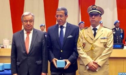 تكريم أممي لجندي مغربي قضى خلال عمليات حفظ السلام