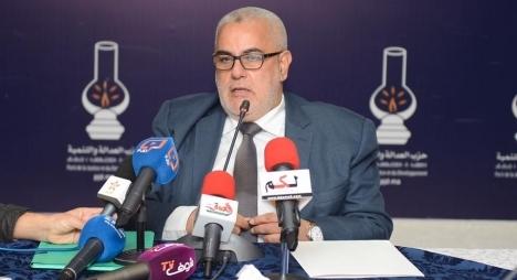 ابن كيران يعلن أسماء أحزاب التحالف الحكومي (فيديو)
