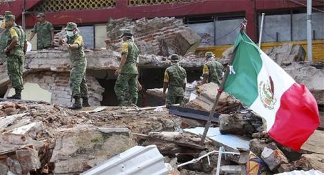 عدد قتلى زلزال المكسيك يرتفع إلى 61 شخصا على الأقل