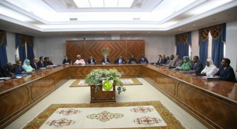 موريتانيا..أول اجتماع لحكومة الرئيس ولد الشيخ الغزواني