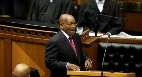 الحزب الحاكم في جنوب إفريقيا يقرر إقالة زوما من رئاسة البلاد