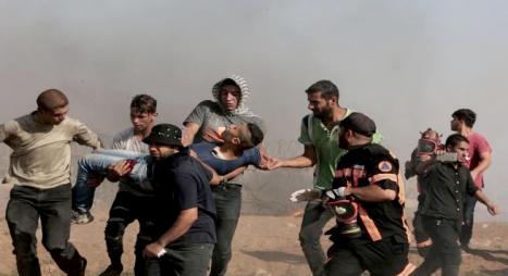 """""""رايتس ووتش"""" استخدام إسرائيل القوة القاتلة في غزة قد يرقى إلى جرائم حرب"""