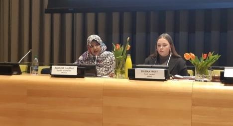 العراك تؤكد بالأمم المتحدة انخراط المغرب في تعزيز حقوق النساء
