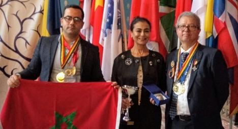 توشيح باحث مغربي برومانيا عن مساهمته في تقدم العلوم والاختراعات