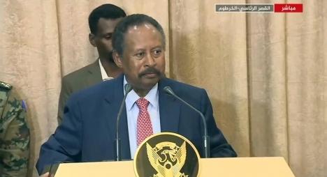 السودان..حمدوك يؤدي اليمين رئيسا للوزراء