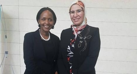 مسؤولة أممية تشيد خلال لقائها بالوفي بالدور الريادي للمغرب في حماية البيئة