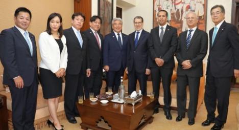 العثماني يبحث مع لجنة الصداقة اليابانية المغربية سبل تعزيز التعاون بين البلدين