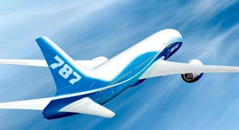 """المغرب يتسلم طائرته الأولى من طراز """"بوينغ 787 دريملاينر"""""""