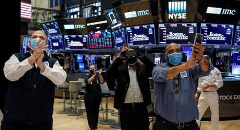 """انتعاش الأسهم الأوروبية وسط ترقب المستثمرين لتطورات لقاح """"كورونا"""""""
