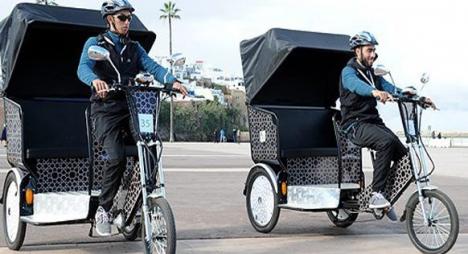"""""""دراجات طاكسي"""" وسيلة نقل جديدة ستغير وجه مدينة الرباط"""