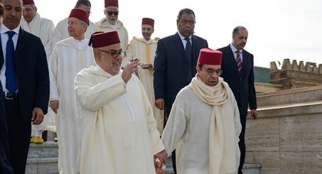 """أمانة """"المصباح"""" تزور ضريح محمد الخامس للترحم على المغفور له الملك الحسن الثاني"""