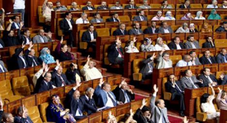 """""""النواب"""" يصادق على مشروعي قانونين تنظيميين يتعلقان بمجالس الجماعات الترابية وبالأحزاب السياسية"""