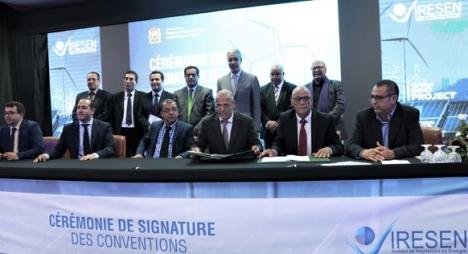 رباح يشرف على توقيع اتفاقيات لتمويل 20 مشروعا في المجال الطاقي