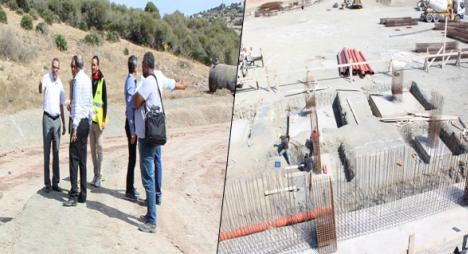 رئيس جماعة طنجة يتفقد مشروع إنجاز مركز لتحويل النفايات المنزلية