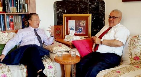 السفير الجديد للصين بالرباط في ضيافة ابن كيران