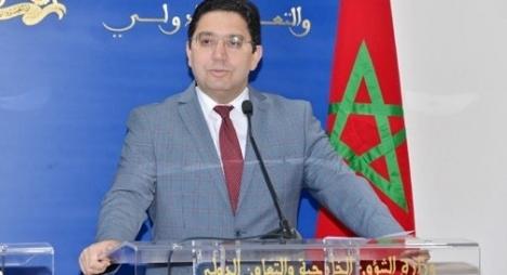 بوريطة: ترسيم المغرب لحدوده البحرية حق سيادي