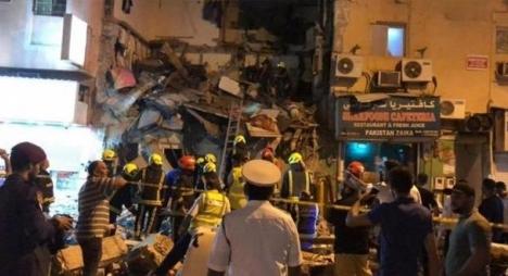 سفارة المغرب بالبحرين: لا وجود لمغاربة ضمن ضحايا انهيار مبنى سكني