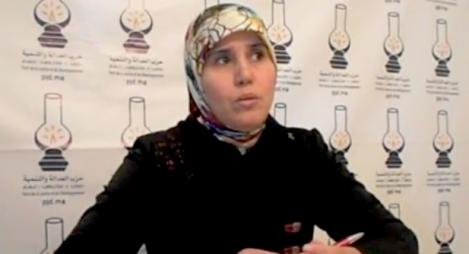 """ربيعة بوجة الكاتبة الإقليمية الجديدة للمصباح بالخميسات: """"البناء التنظيمي"""" أول أولوياتي"""