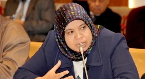 بوجمعة تدعو إلى الإسراع بالمخطط التنفيذي لخطة العمل الوطنية في مجال الديمقراطية وحقوق الإنسان