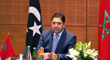 بوريطة: المغرب أكد على الدوام أن التدخلات الخارجية تعقد الأزمة الليبية