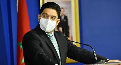 بوريطة: من يمارس الاستفزازات يضع نفسه في مواجهة مع الأمم المتحدة والقانون الدولي