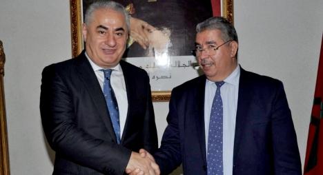 صديقي وسفير أذربيجان يبحثان تعميق علاقات التعاون الثنائي بين البلدين والعاصمتين
