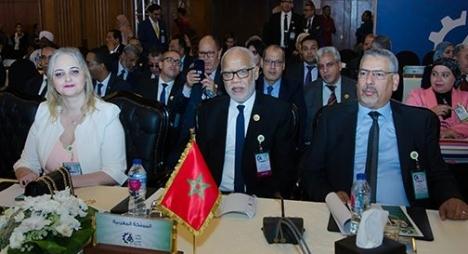 يتيم يرأس الوفد المغربي المشارك في أعمال الدورة 46 لمؤتمر العمل العربي بالقاهرة
