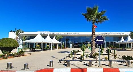 """""""كورونا"""".. تراجع حركة النقل الجوي بمطار الشريف الإدريسي بالحسيمة بنحو 70 بالمائة"""