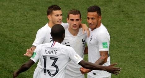 فرنسا أول المتأهلين إلى دور النصف نهائي من مونديال روسيا