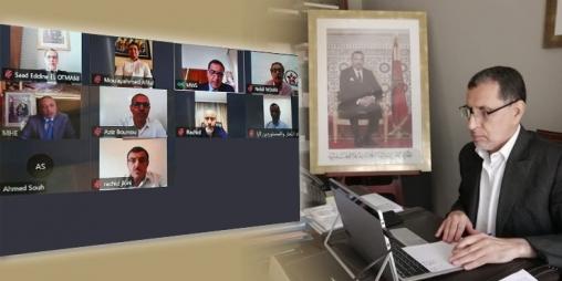 رئيس الحكومة يشيد بجهود التجار المغاربة خلال فترة الحجر الصحي