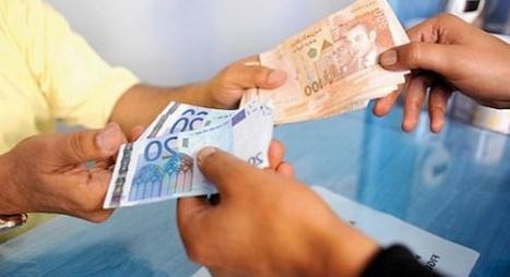 ارتفاع الدرهم مقابل الدولار