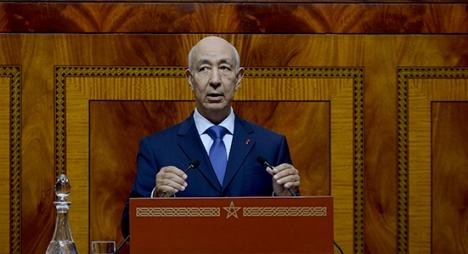 جطو يقدم تقرير أداء المجلس الأعلى للحسابات أمام البرلمان