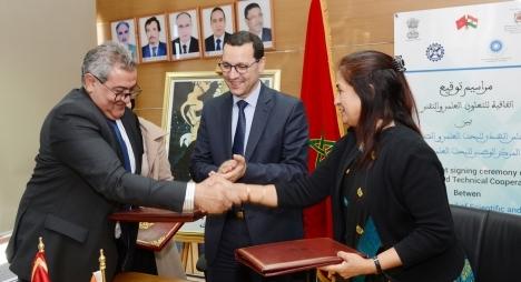 الصمدي يترأسمراسيم توقيع اتفاقية التعاون العلمي بين المغرب والهند