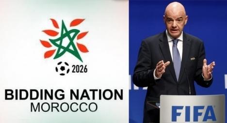 """""""الفيفا"""" تحدد موعد قرارها النهائي بشأن تنظيم المغرب لكأس العالم 2026"""