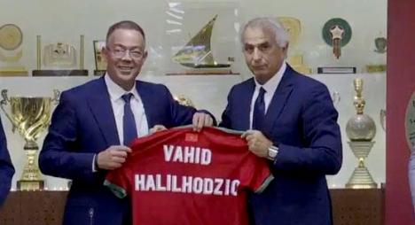 رسميا..وحيد خليلوزيتش مدربا للمنتخب الوطني