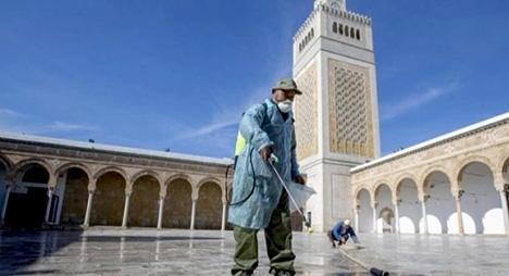 بعد قرار إعادة فتحها.. وضع برنامج خاص لتعقيم مساجد الدار البيضاء