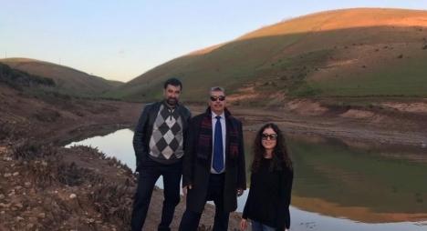 """هذا ما سجلته منسقية برلمانيي """"المصباح"""" بالرباط خلال تفقدها لبحيرةسد سيدي عبد الله"""