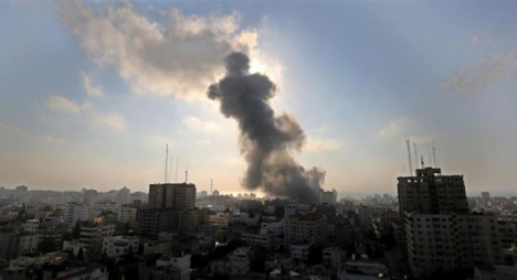 غارة جديدة للاحتلال الإسرائيلي تؤدي إلى إصابة 20 فلسطينيا