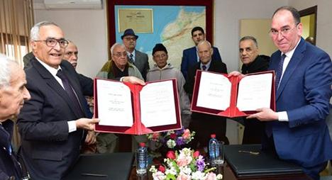اتفاقية شراكة للنهوض بالتشغيل الذاتي بصفوف أبناء قدماء المقاومين وأعضاء جيش التحرير