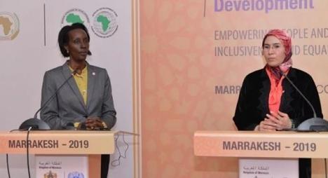 المنتدى الإفريقي للتنمية بمراكش..إحداثصندوق إفريقي للريادة النسوية