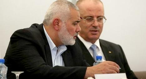 """هنية يعلن نجاح """"حماس"""" و""""فتح"""" في التوصل لاتفاق"""