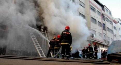 الدار البيضاء..حريق مهول يخلف خسائر جسيمة