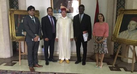 الاحتفال بالذكرى 150 لميلاد غاندي محور اجتماع سفير الهند بعمدة الرباط