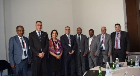 أمكراز ونظيرته الإثيوبية يؤكدان رغبتهما في تطوير علاقات البلدين