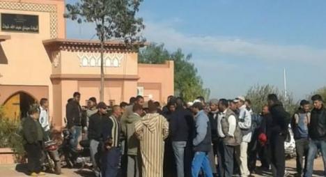 الحوز..الأغلبية بجماعة سيدي إبراهيم غيات تواصل اعتصامها لليوم الخامس