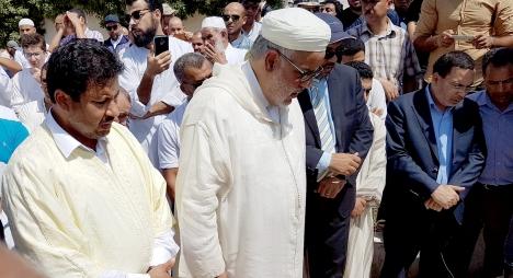 ابن كيران ينعي والد عبد العلي حامي الدين