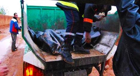 مطالب بفتح تحقيق في نقل جثامين ضحايا فياضانات بكلميم عبرسيارات جمع القمامة